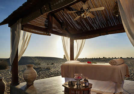 Outdoor Massage at Bab Al Shams