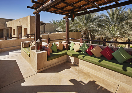 Outdoor Lounge at Bab Al Shams