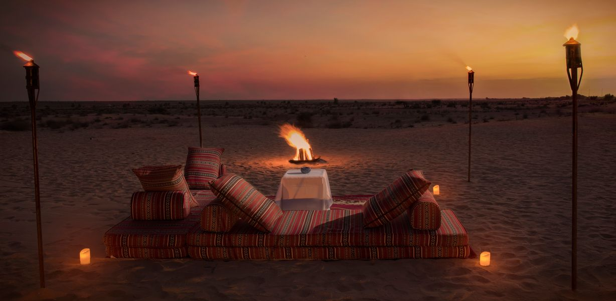 BESPOKE EVENING AT BAB AL SHAMS