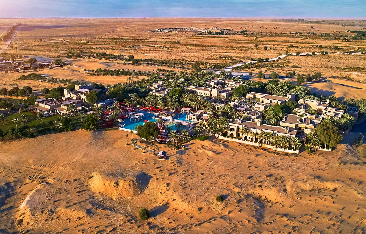 bab al shams desert resort and spa location map Location Bab Al Shams Desert Resort Spa Dubai bab al shams desert resort and spa location map