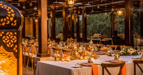 Wedding Dinner at Bab Al Shams