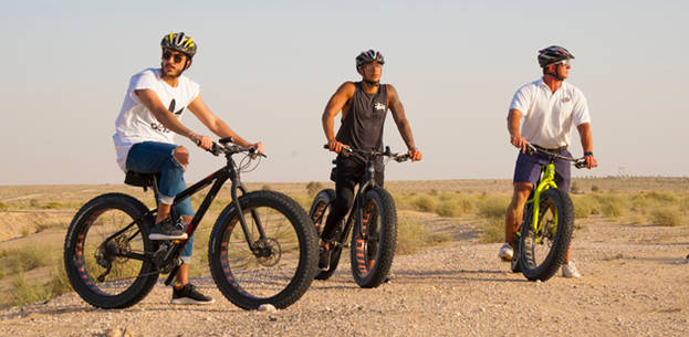 FAT BIKE DESERT EXCURSION AT BAB AL SHAMS