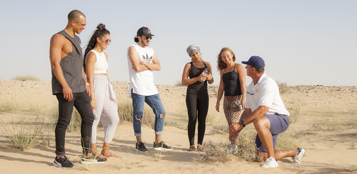 Nature Walk at Bab Al Shams